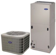 carrier 5 ton condenser. carrier air conditioner -5 ton 16.5 seer condenser \u2013 24acb660a003. handler fv4cnb006t00. heat kfceh2601c10 10kw w/ breaker 5