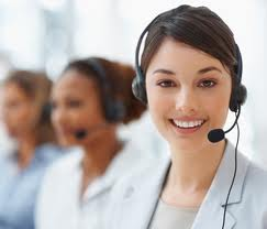 AC repair service customer service reps