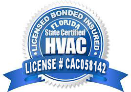 Licensed insured HVAC Contractor in FL