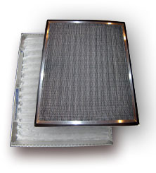 custom air filter vert1 Custom Anti Microbial Electrostatic Air Conditioner Filters