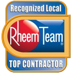rheem top contractor sq badge 150 Home