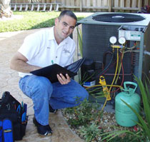 ft lauderdale fl AC repair technician