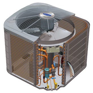 Carrier Performance 16 Heat Pump 25HCB6