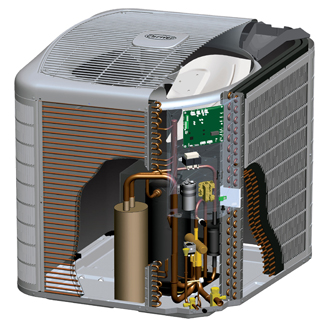 Carrier Infinity 16 Heat Pump With Greenspeed Intelligence