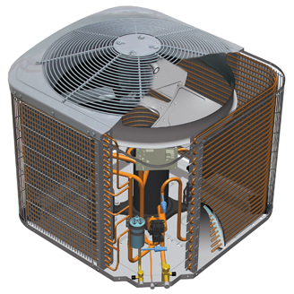 Carrier Performance 13 heat pump