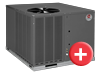 Rheem RSNL RSPl Package unit heat pump