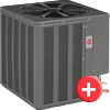 rheem value series 1 and 2 atge air conditioning systems