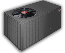 rheem dedicated horizontal heat pump 250