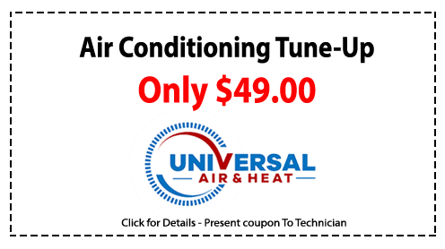 air conditioning Tune Up 49 dollars coupon